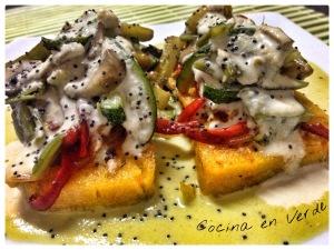Cocina en Verde y El Girasol Resta Vegetariano