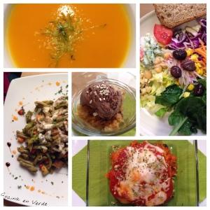 Cocina en Verde y El Girasol Restaurante Vegetariano